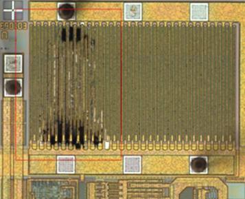 Figure 2 Photo of IC Decap